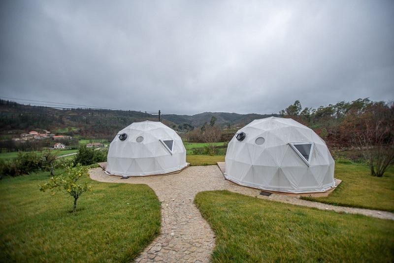 Dome tenten quinta da Fonte