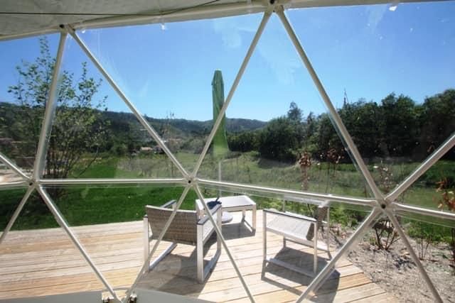 uitzicht accommodatie quinta da Fonte