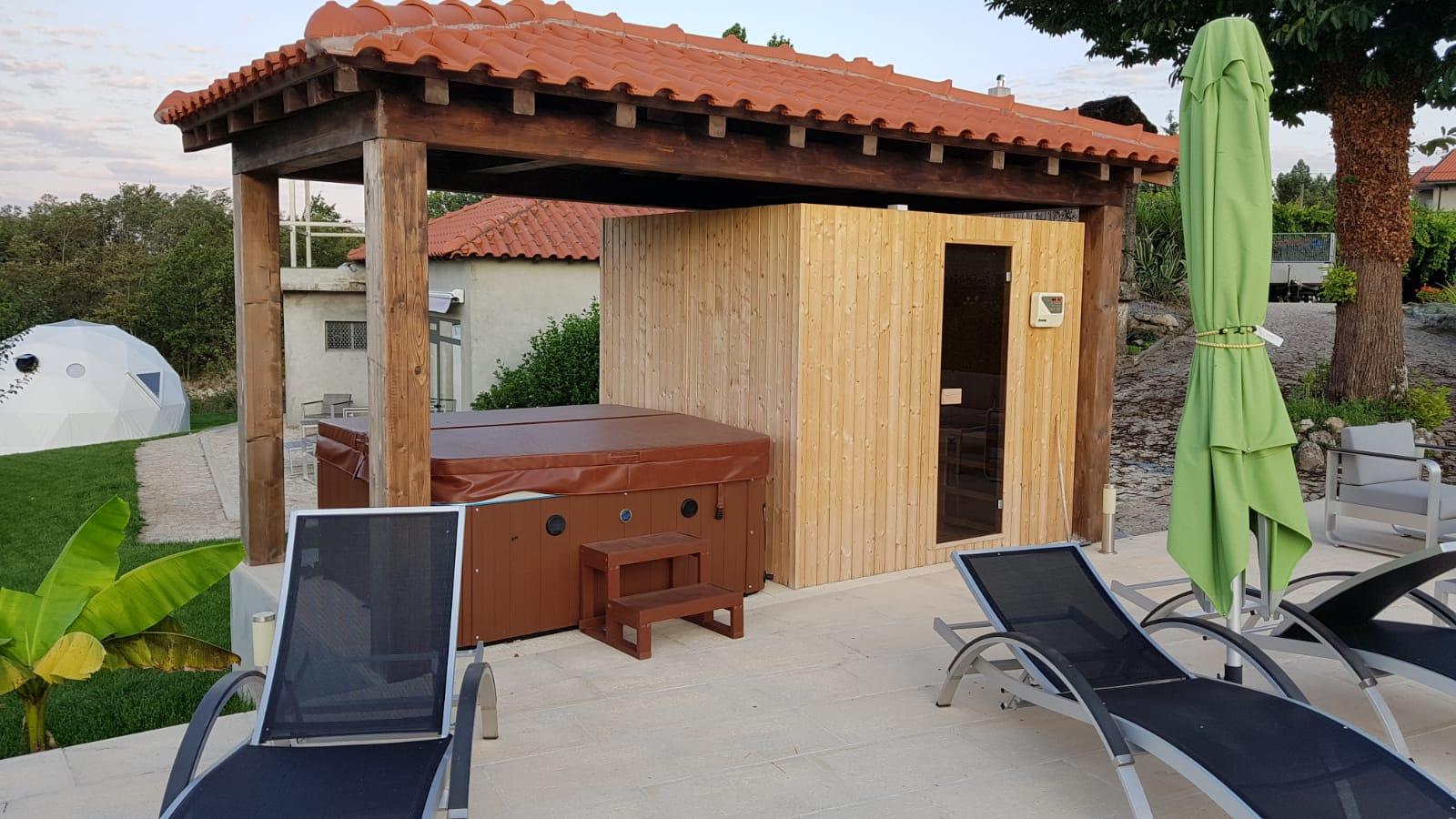 whirlpool en sauna